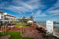 Yacht Wellness Hotel Siofok 4* discounted half-board wellness packages