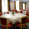 Vista dell'elegante ristorante dell'Hotel Actor Budapest - centro storico facilmente raggiungibile con i mezzi