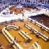 Piscina di acqua salutare a Hajduszoboszlo presso l'Atlantis Hotel