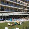 Lettino presso il Balneo Thermal Hotel Zsory a Mezokovesd
