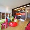 Stanza per i bambini con giochi a Balatonlelle nello Yachtclub Bavaria
