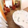 Jacuzzi nella camera - appartamenti lussuriosi a Cegled all'Hotel Auqarell