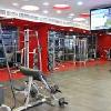 Sala fitness z maszynami carcio w Hotel-u Broadway, w śródmieściu Budapesztu