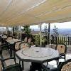 Terrazza panoramica all'Hotel Budai - alloggio economico per una vacanza breve