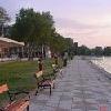 La spiaggia privata - Siofok Hotel Hungaria - Lago Balaton