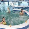 Centro benessere all'Hotel Aqua-Spa a Cserkeszolo