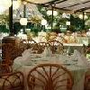 La terrazza del Grand Hotel sull'Isola Margherita a Budapest - Grand Hotel Margitsziget