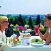 Terrazza Bellevue al hotel termale Aqua a Heviz - pacchetti di cure e di wellness - trattamenti curativi a Heviz