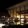 Danubius Thermaal Hotel Buk - zwembad buiten in de nacht