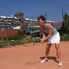 Tennisbaan in het viersterren Danubius Health Spa Resort