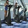 Sală de fitness în hotelul Helia de 4 stele aproape de centru în Budapesta