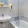 Il bagno dell'Hotel Eben a Budapest - hotel romantico a prezzi ridotti
