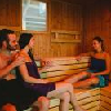 Sauna finlandese nell'albergo benessere Elixir a Morahalom
