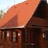 Romantiche case di legno nel Parco di riposo di Poroszlo