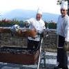 Weekend a Galyateto nel Grand Hotel Galya**** - terrazza con grill