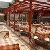 Taras restauracyjny w 4 gwiazdkowym Hotelu Welness Beach Budapest