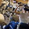 Hotel Arena  Budapest - sala fitness con macchine cardio al Danubius Hotel Arena