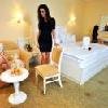 Camera d'albergo dell'Hotel Calimbra con mezza pensione