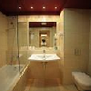 Bathroom in Hotel Castle Garden in Budapest