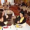 Ristorante all'Hotel Drava a Harkany in un ambiente romantico