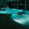 Area wellness di notte a benessere all'Hotel Drava