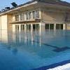 Albergo benessere a Zsambek vicino a Budapest - piscina esterna dell'Hotel Szepia Bio Art