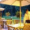 La terrazza dell'Hotel Fagus a Sopron - albergo 4 stelle a Sopron