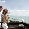 Terrazza con vista panoramica sul Lago Balaton - Danubius Hotel Marina a Balatonfured