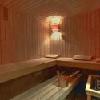 Sauna finlandese all'Hotel Mediterran a Budapest