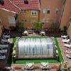 Appartamenti a Heviz all'Hotel Palace cortile interiore con piscina - hotel 4 stelle nel centro di Heviz nella strada principale