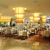 Ristorante al nuovo hotel a 4 stelle Aquaworld Resort Hotel a Budapest