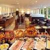 Prima colazione abondante al ristorante dell'Hotel Star Inn Budapest Centrum