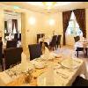 Ristorante elegante per la prima colazione all'Hotel Ipoly Residence a Balatonfured