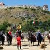 Tornei dei cavalieri, spettacoli medievali equestri a Sumeg all'Hotel Kapitany
