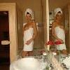 Suite con sauna e jacuzzi all'Hotel Korona a Eger