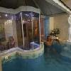 Sauna finlandese e piscina d'esperienza all'Hotel Korona a Eger