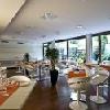 Elegant restaurant in Design Hotel Lanchid 19 in Budapest