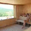 Sauna finlandese con vista panoramica sul Monte Kekes -Hotel Ozon Matrahaza