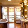 Stanza da bagno nella suite Hotel Silvanus Visegrad