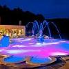 Piscina esterna dell'Hotel Silvanus - week-end romantico a Visegrad