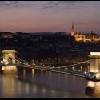 Panorama from Hotel Sofitel Chain Bridge in Budapest