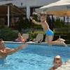 Piscina all'aperto a Sopron all'Hotel Sopron - hotel a Sopron con vista sulla citta