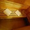 Sauna finlandese per gli ospiti dell'Hotel Sunshine a Budapest