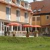 Ristorante con terrazza al Thermal Hotel Aqua a Mosonmagyarovar in Ungheria