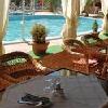 Terrazza dell'Hotel Termale Liget - piscina termale esterna