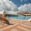 Grande piscina all'aperto nel 3* Thermal Hotel Mosonmagyarovar