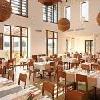 Piacevole ed elegante ristorante del Tisza Balneum Hotel a Tiszafured