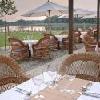 Terrazza con vista panoramica sul Lago Tisza, Hotel termale Balneum