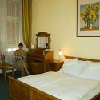 Elegant hotel room in City Hotel Unio in the downtown of Budapest