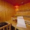 Sauna nel centro benessere Wellness Hotel Abacus a Herceghalom